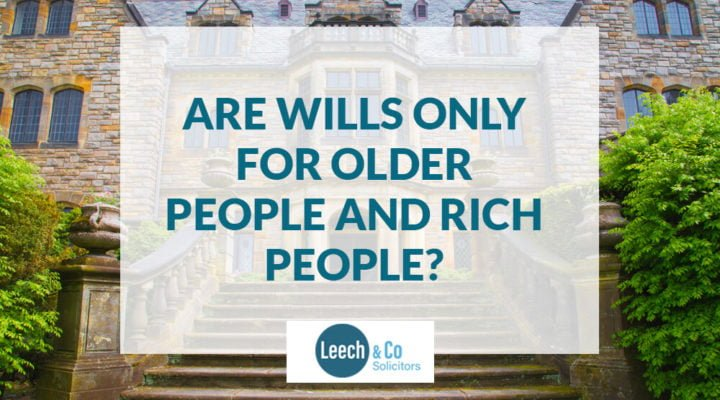 Are Wills for Rich people